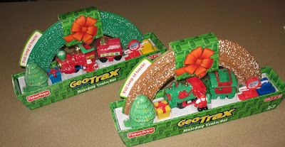 Holiday GeoTrax Sets