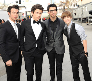 Jonas Brothers, Joe Jonas, Kevin Jonas, Kevin Jonas, Justin Bieber,