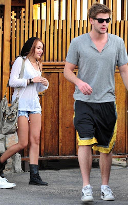 Miley Cyrus, Liam Hemsworth,