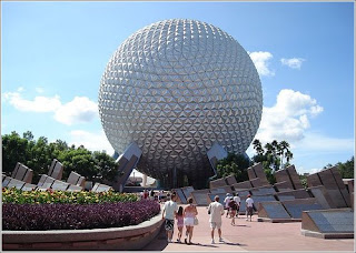 spaceship earth de epcot en orlando