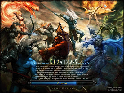 dota allstars wallpaper. a la version Dota Allstars