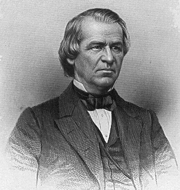 A Boat Against the Current: This Day in Southern History ... Andrew Johnson