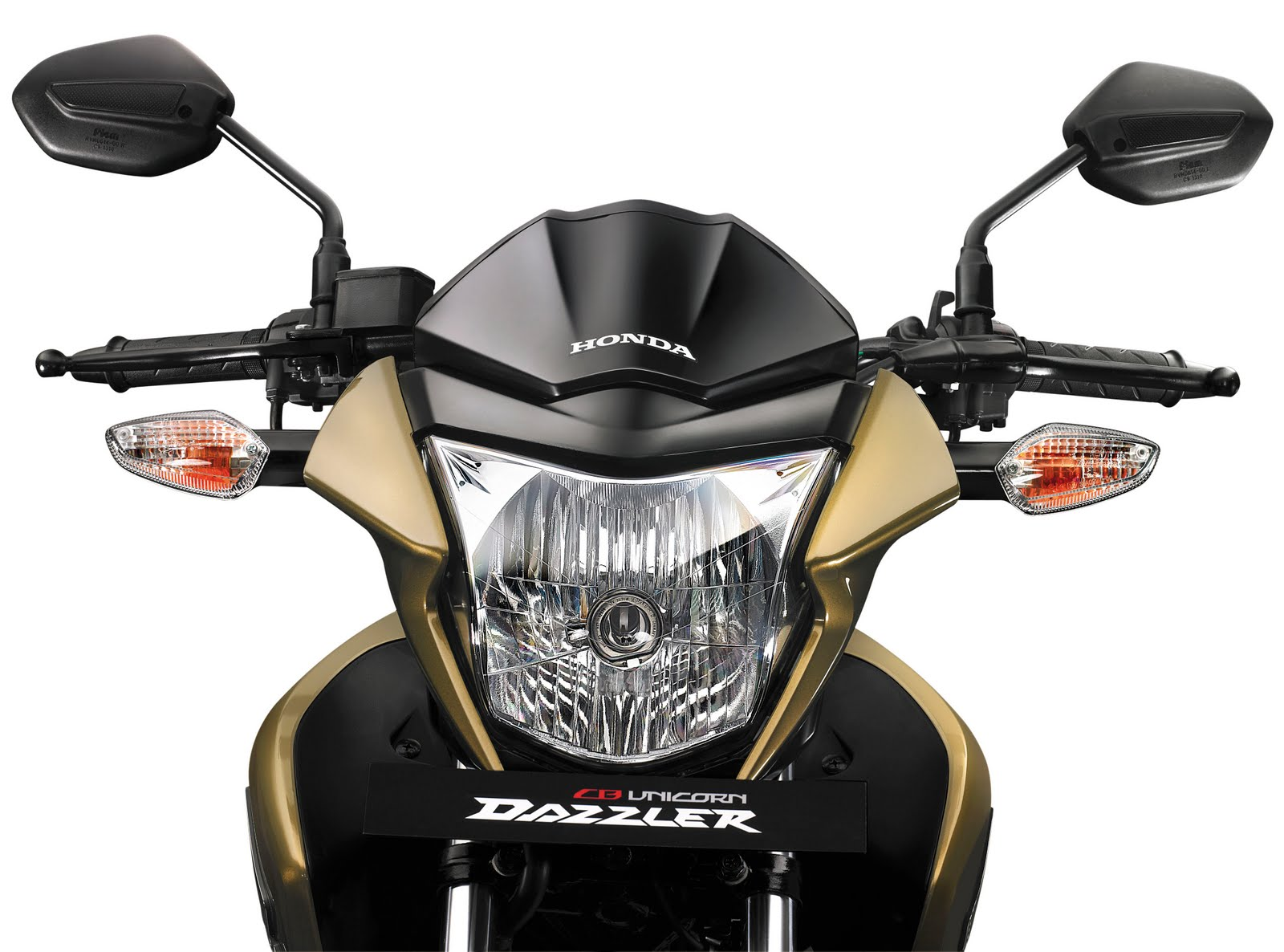 The honda cb unicorn dazzler is available in 4 colours armour gold metallic pearl siena red pearl nightstar black sword silver metallic