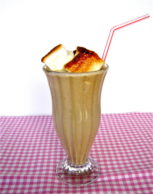 Susi's Kochen Und Backen Adventures: Toasted Marshmallow Milkshake