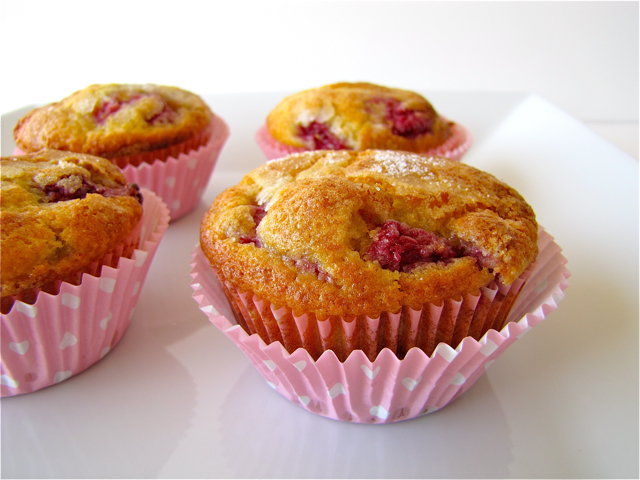 Susi's Kochen Und Backen Adventures: Orange Raspberry Muffins