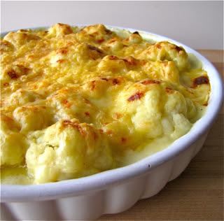 Susi's Kochen Und Backen Adventures: Cheesy Cauliflower Casserole