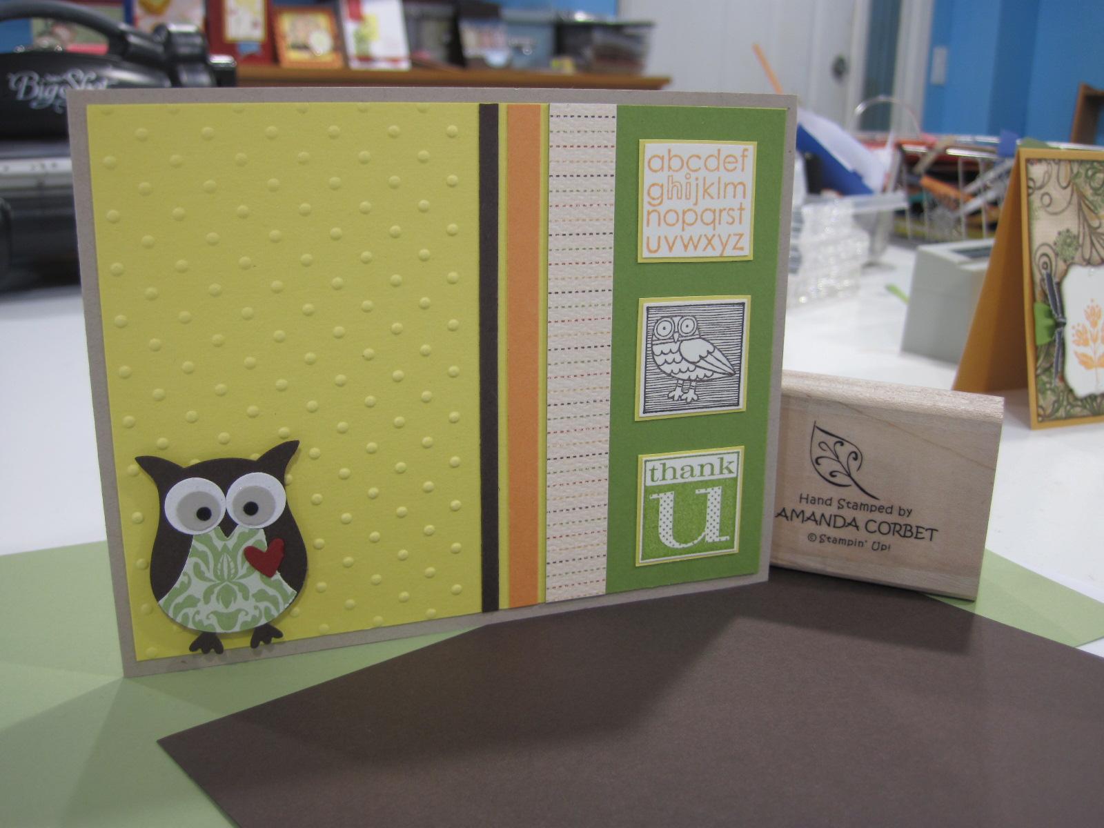 Thank You Owl