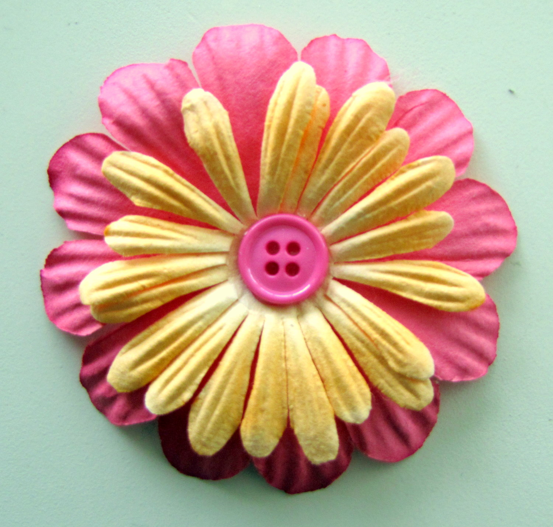 Paper Flower Arrangement Tutorial Craft Little Miss Momma
