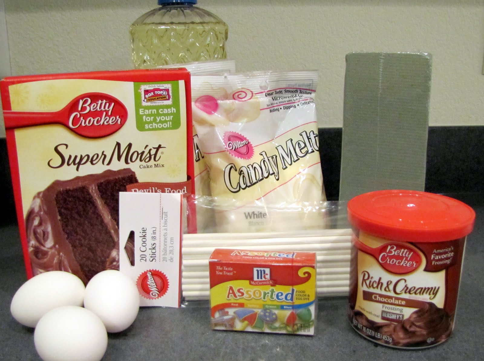The domestic dillard diva easy cake pops for What are the ingredients to make a cake