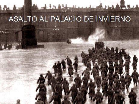 ASALTO AL PALACIO DE INVIERNO