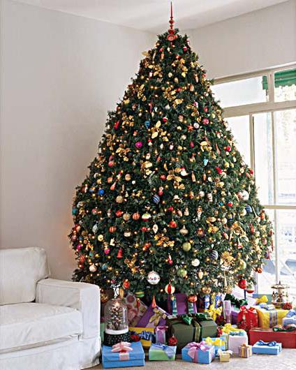 decorar uma arvore de natal : decorar uma arvore de natal:Como Decorar Uma Árvore de Natal ~ Etiqueta & Comportamento