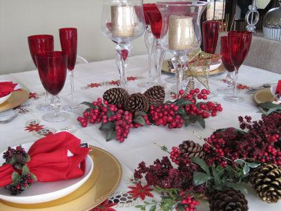 Decoração Para Mesa De Natal Com Frutas