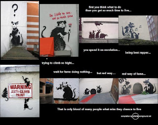 banksy rats compiled by Uwa