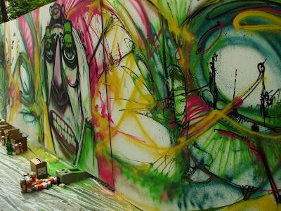 Slovakia graffiti