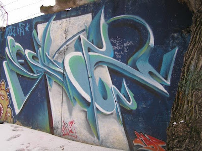 Kazakhstan graffiti