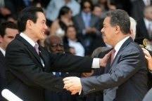 Presidente Fernández y homólogo de Taiwán tratan sobre cooperación a Haití