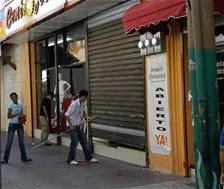 Los apagones provocan paros y cierre de negocios