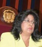 Cristiana Lizardo dice Alejandrina Germán hará una buena labor en la secretaría de la Mujer