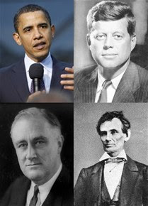 Lincoln, Roosevelt, Kennedy...¿Obama?