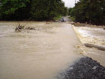 Lluvias dejan 10.485 evacuados y 2.097 casas afectadas en la R.Dominicana