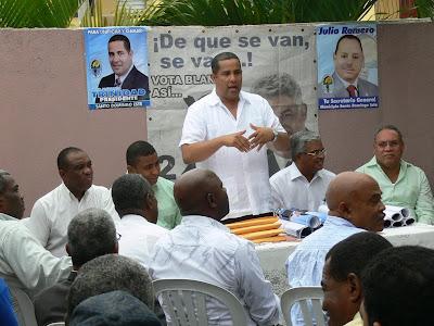 Trinidad dice Domingo Batista no garantiza el retorno el poder