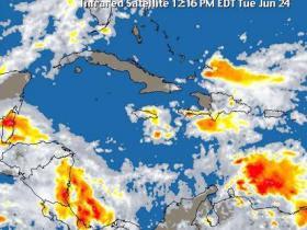 Activan organismos emergencia en 52 barrios vulnerables de Santiago por paso tormenta Erika