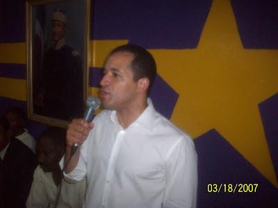 Juancito hace visita-recorrido por C.I del PLD en circunscripción dos