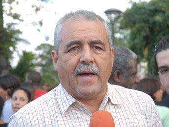 Virgilio Almánzar bajo interrogatorio unidad anti secuestro en Nagua