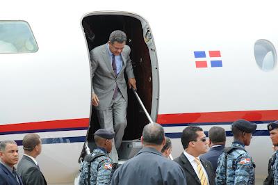 Presidente Fernández regresó a las 12:10 de Cuba