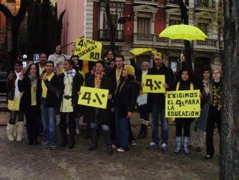 Juventud criolla en Madrid también se viste de amarillo