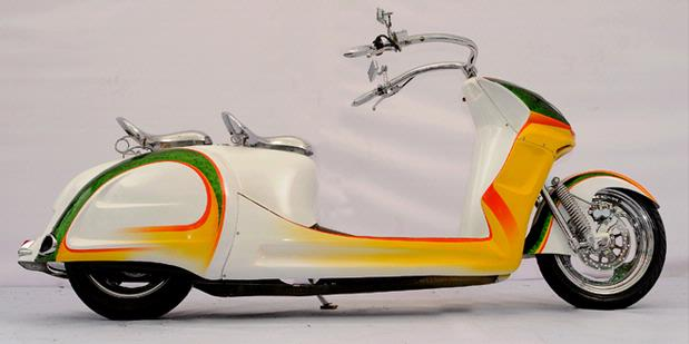 Image of Modifikasi Vespa
