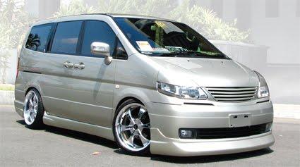 Modifikasi Nissan Serena