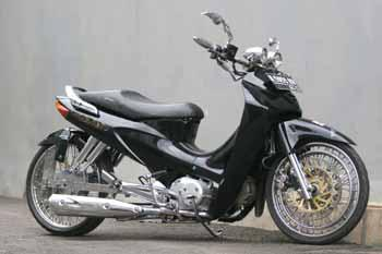 Photo Honda Karisma Modifikasi