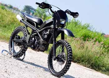 Displayer Big Motorcycle: MODIFIKASI Suzuki Satria F-150