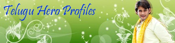 Telugu Hero&#39;s Profiles