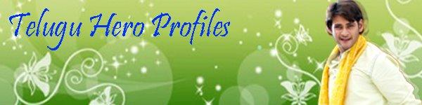Telugu Hero's Profiles
