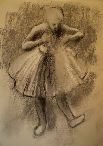Pastel Workshop: Ballerina Sketch