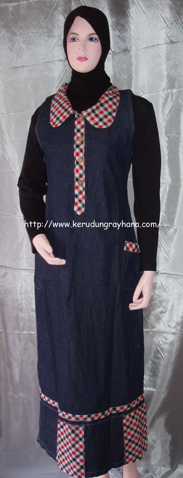 Ramadan Muslim Dress Aneka Gamis New
