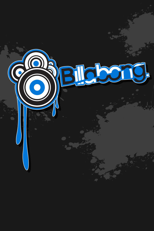 iPhone 4 - BILLABONG. Click on image to download full wallpaper.