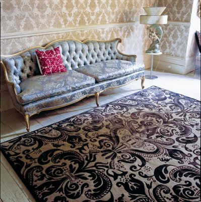 13+RC+DC DVF BISHOPS CAPE BLACK R Gorgeous carpets from The Rug Company