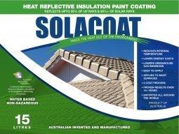 Agencies Solacoat Coolshield Reflective Paints