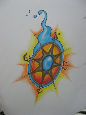 Nautical compass rose Nautical Compass Rose Tattoo