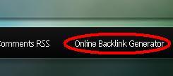 Online Backlink Generator Free