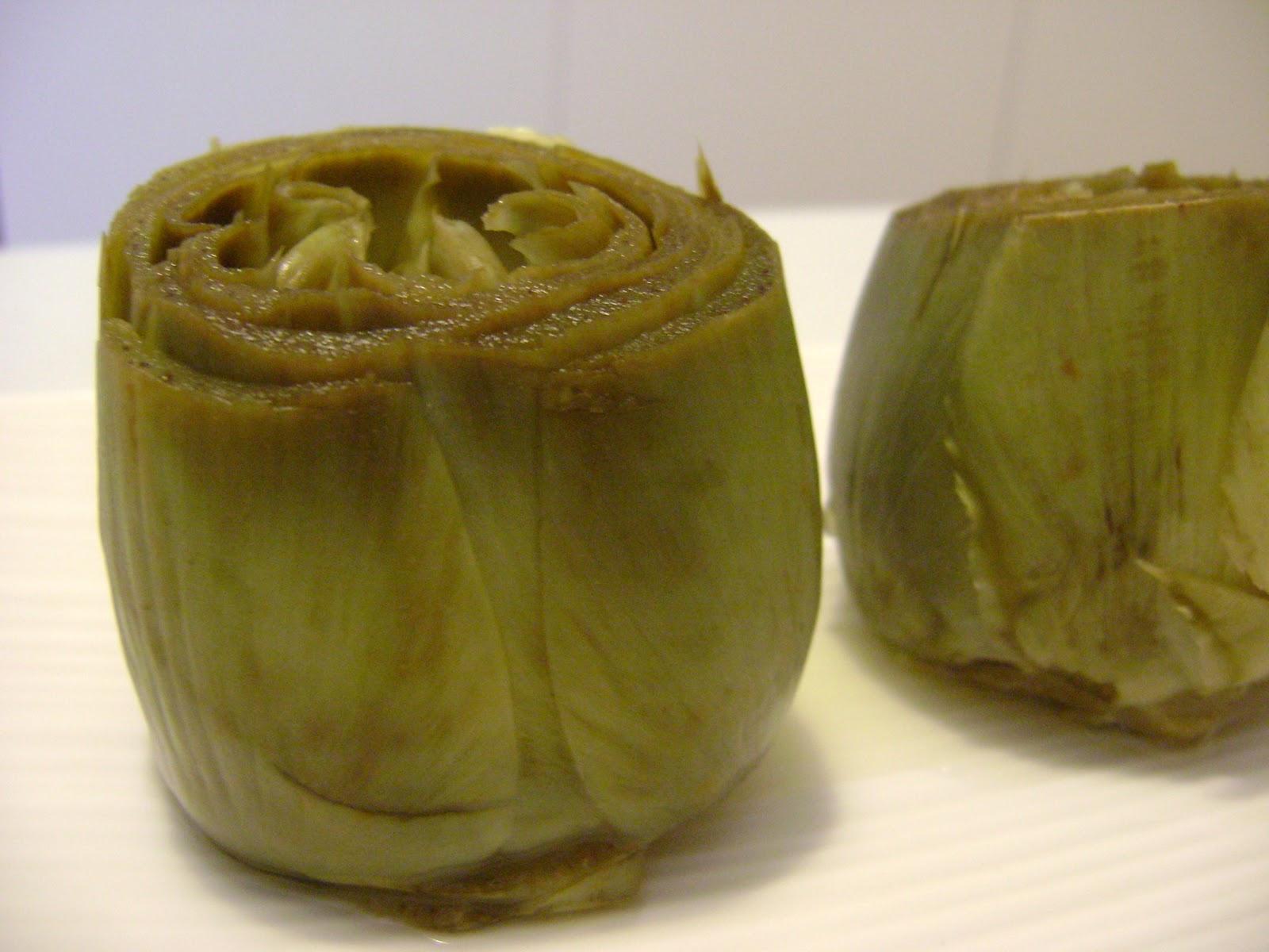 Entre fogones y otras recetas cotidianas alcachofas al for Cocinar alcachofas