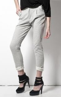 Pleated Tailored Sweatpants