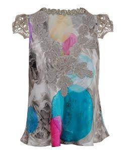 Floral & Lace Top
