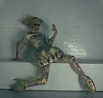 Lady Gaga in the Alexander McQueen Armadillo Shoes