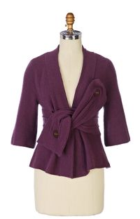 Knotted Wrap Cardigan