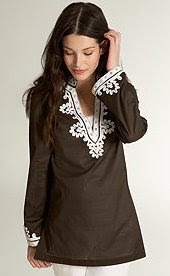 Embroidered and Beaded Tunic