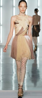 Rodarte Thigh High Cut Outs
